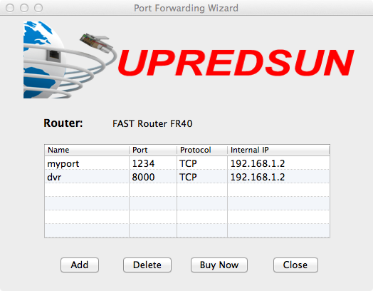 Port Forwarding Wizard for MAC - The simple MAC port